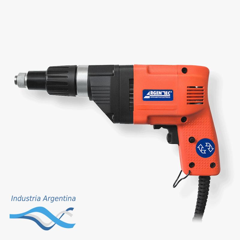 ATORNILLADOR ELECT 500W 1/4 V/V REV TORQ REG -- ARGENTEC