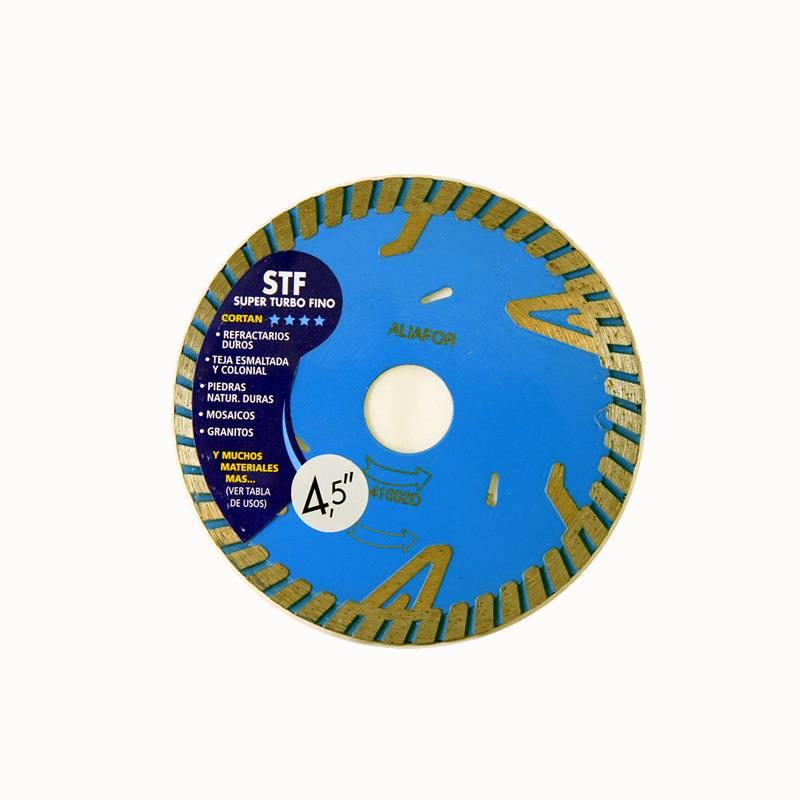 DISCO DE DIAMANTE 4.1/2/ STF -- ALIAFOR