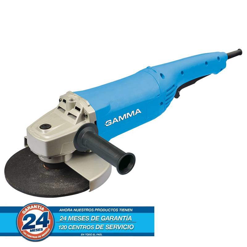 AMOLADORA 230 MM 2200W ELITE -- GAMMA