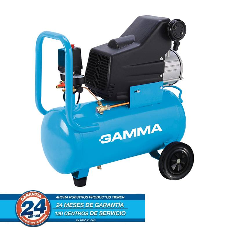 COMPRESOR 2 HP 24 LTS MONOF GAM2801 -- GAMMA **OFERTA