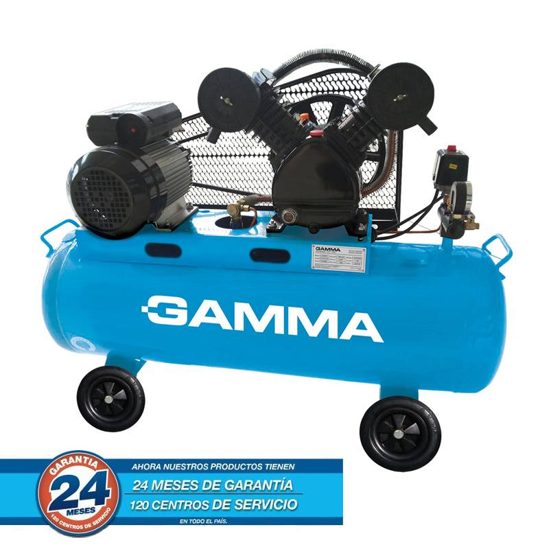 COMPRESOR 100 LTS 3 HP MONOF GAM2803AR -- GAMMA **