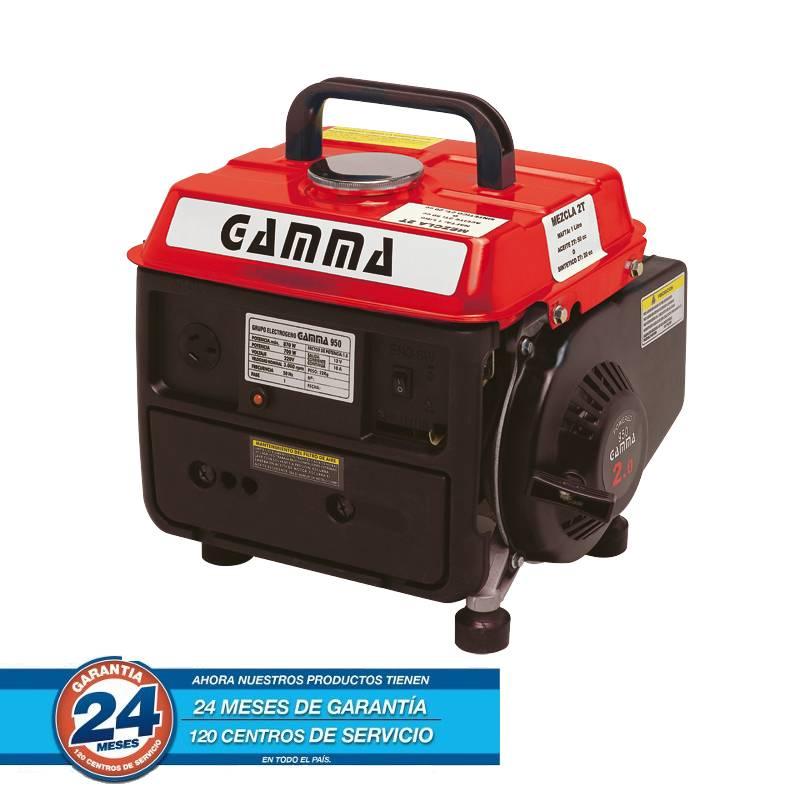 GRUPO ELECTROGENO 0.95KVA 2T 2HP 950W A/M -- GAMMA **