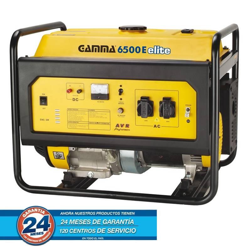 GRUPO ELECTROGENO 6.5KVA 4T 13HP 6500W A/E A/M ELITE -- GAMMA **