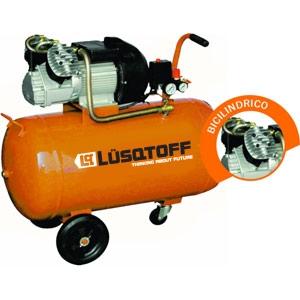 COMPRESOR 100 LTS 4 HP BICILINDRO MONOF -- LUSQTOFF**