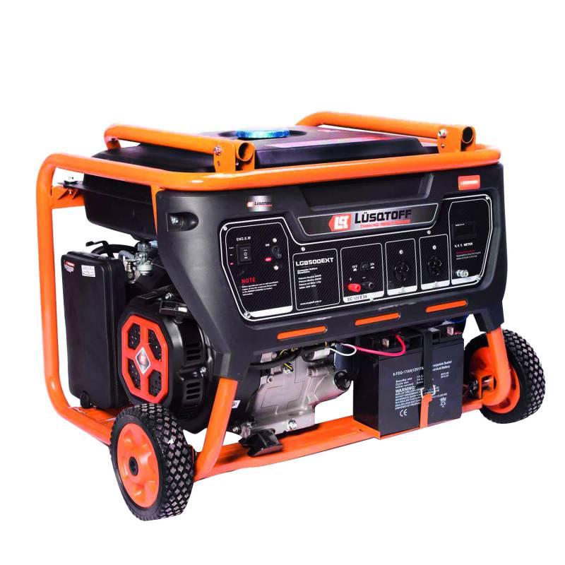 GRUPO ELECTROGENO 8.5KVA 4T 17HP 220V TRIF 8500W A/M A/E -- LUSQTOFF**