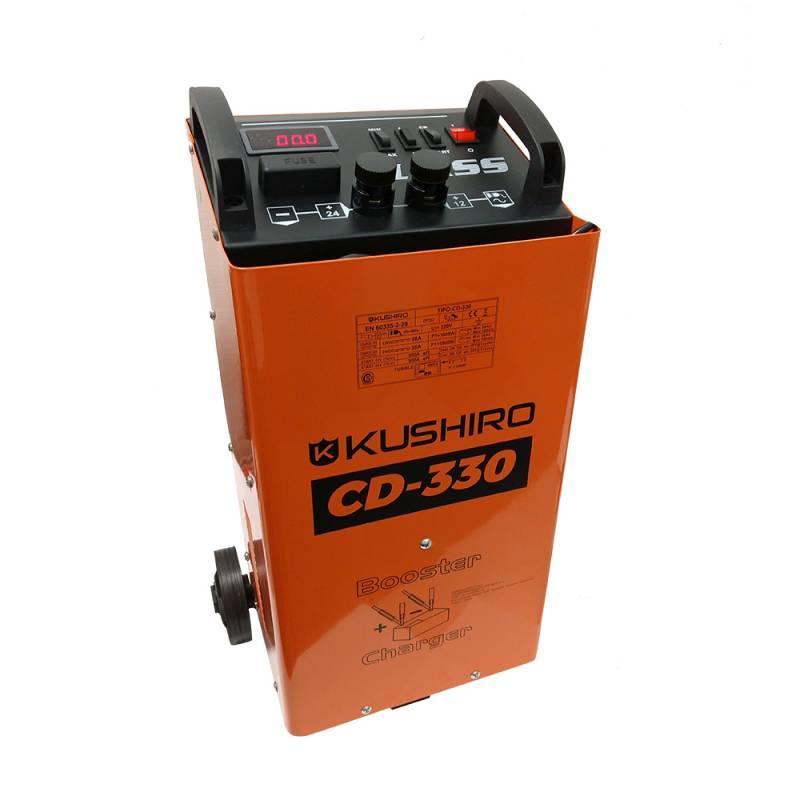 CARGADOR ARRANCADOR 300 AMP 12 / 24 V -- KUSHIRO