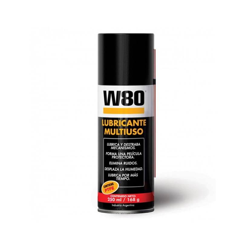 LUBRICANTE MULTIUSO W-80  250ML/168GR. -- W80