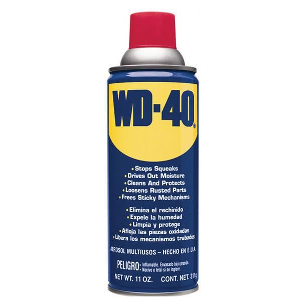 LUBRICANTE W-D 40 AEROSOL 311G/432CM3 -- WD-40