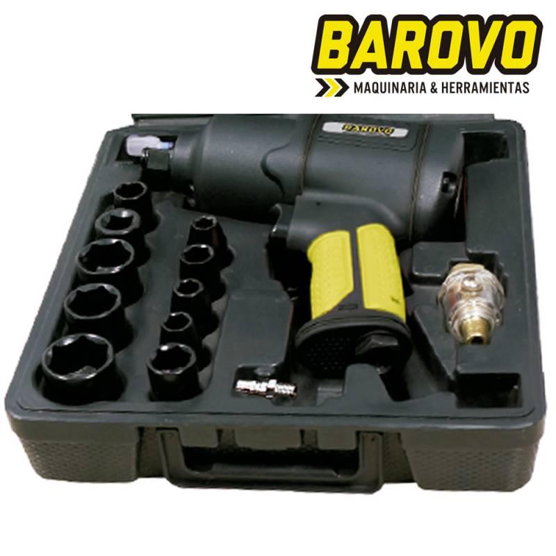LLAVE DE IMPACTO 1/2 TORQ. REG.+ KIT ACCES. 448 LB -- BAROVO OFERTA!**