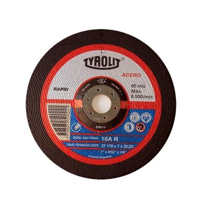 DISCO 178X7.0 X 22 10A R RAPID -- TYROLIT