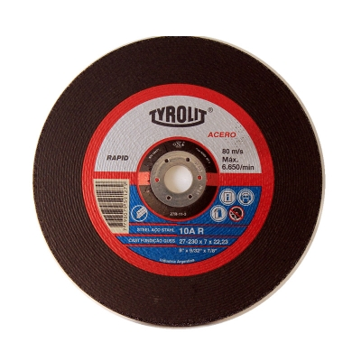 DISCO 230X7.0 X 22 10A R RAPID -- TYROLIT
