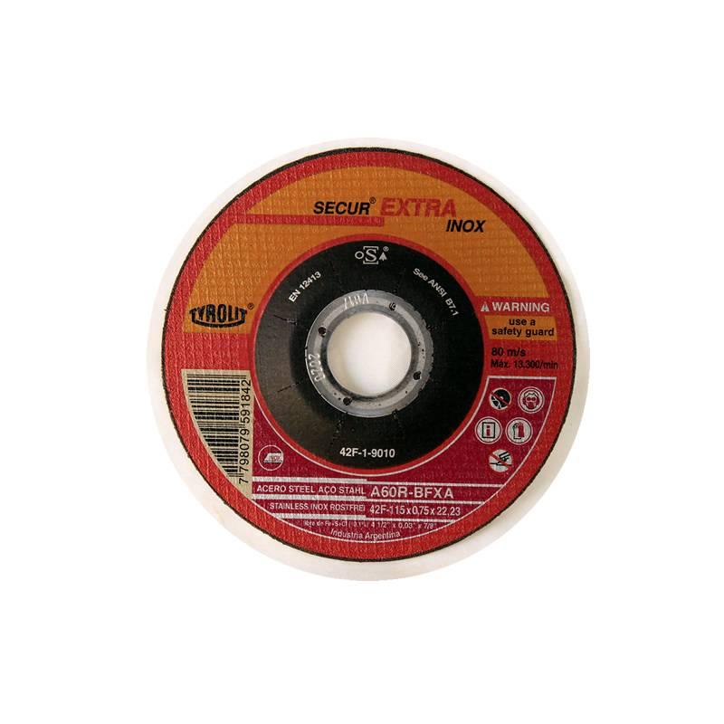 DISCO 115X0.75 X 22  C/DEP. -- TYROLIT