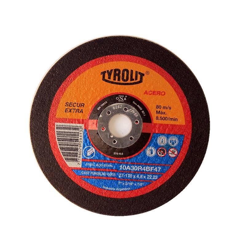 DISCO 178X4.8 X 22 10A 30 R SECUR -- TYROLIT