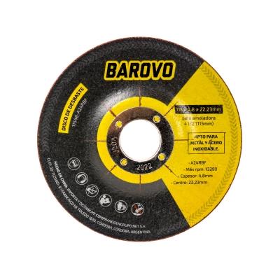 DISCO DE CORTE 115X4.8X22.3 -- BAROVO OFERTA!
